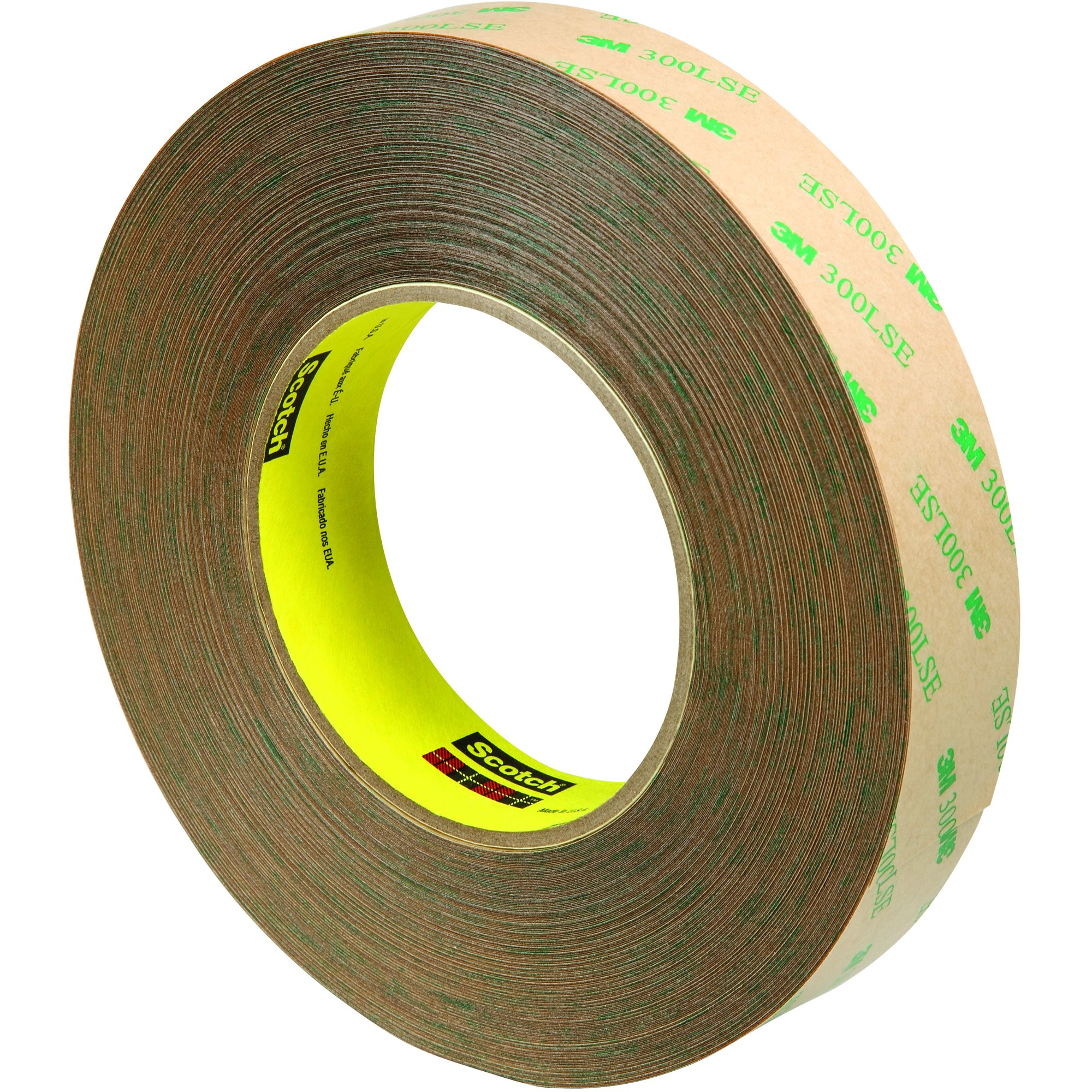 Scotch T9659472 Clear #9472LE Adhesive Transfer Tape, Hand Rolls, 1'' x 60 yd. (Pack of 9)