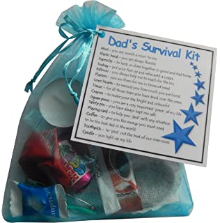 Daughter survival gift kit card beautiful presentgift for dads survival kit gift ideal dad gift for dad ideal father gift for fathers negle Image collections