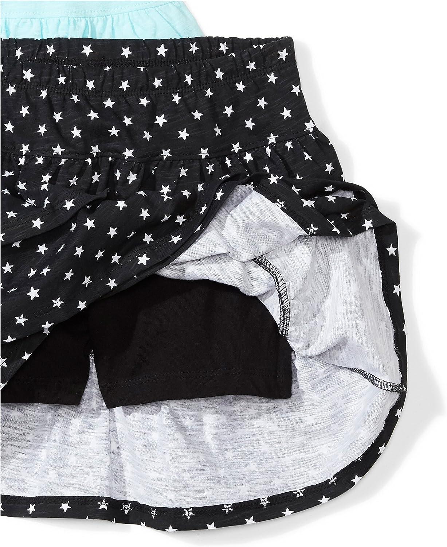 per monopattino set di 2 gonne per bambine Marchio in maglia Spotted Zebra