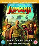 Jumanji: Welcome To The Jungle [Blu-ray 3D] [2017]