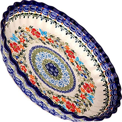 Amazon Polish Pottery Ceramika Boleslawiec 6060 Pie Baker Magnificent Polish Pottery Patterns