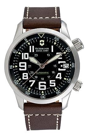 amazon com victorinox swiss army men s 241378 airboss automatic victorinox swiss army men s 241378 airboss automatic watch