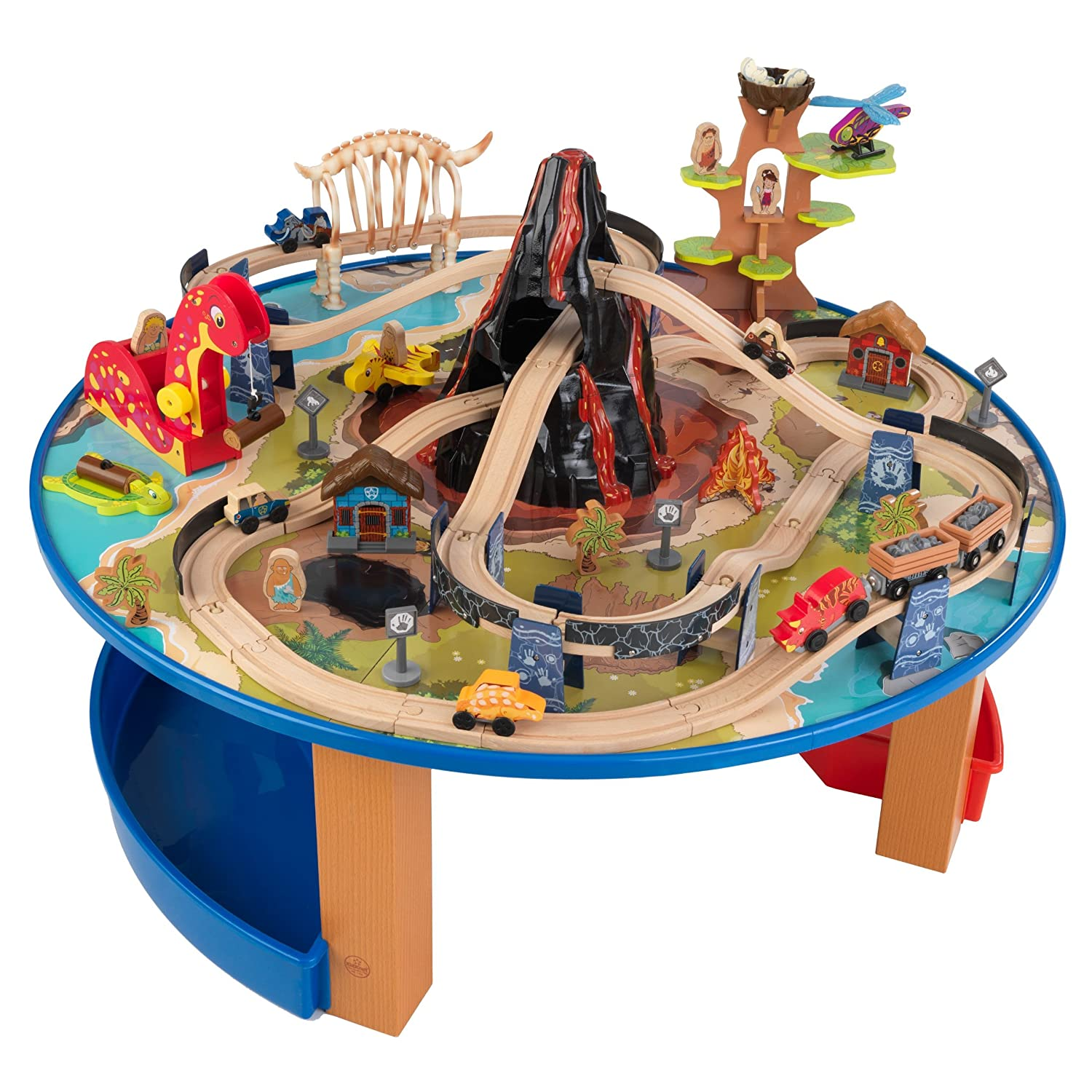 Amazon.com: KidKraft Dinosaur Train Table Model Building Kit: Toys U0026 Games
