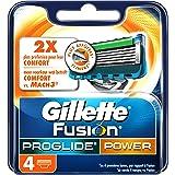 Gillette Fusion ProGlide Power Lames De Rasoir Pour Homme  - 4Recharges