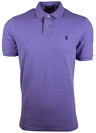 4ab79193e Image Unavailable. Image not available for. Color: RALPH LAUREN Polo Men Classic  Fit Mesh Polo Shirt (Large ...