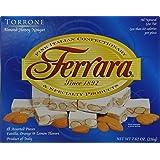 Torrone Nougat Candy, 18 Assorted Pieces (Ferrara) NET WT 7.62 216g