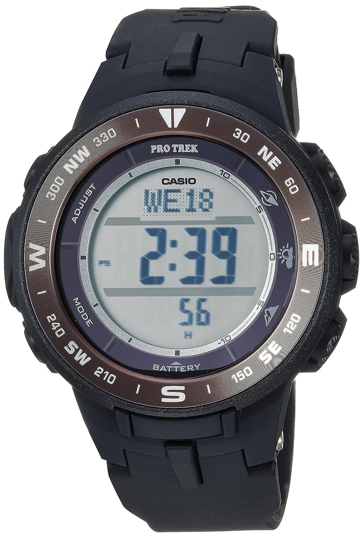 Casio Pro Trek - Reloj de Cuarzo para Hombre, Color Negro (Modelo ...