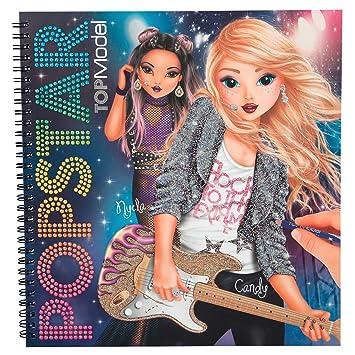 Depesche 4324 Colouring Book Top Model Popstar