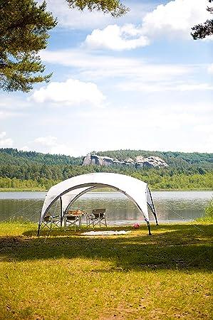 Coleman Carpa Event Shelter, Cenador para Festivales, jardín y Camping, construcción Robusta de mástiles, Gazebo con protección Solar SPF 50+