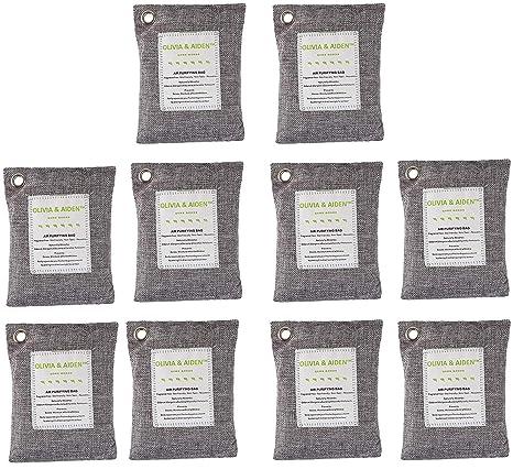 Amazon.com: OLIVIA & AIDEN - Paquete de 10 bolsas grandes de ...