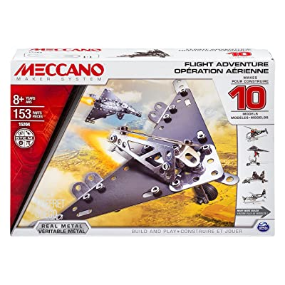 Meccano Multimodels, Flight Adventure 10 Model Set: Toys & Games