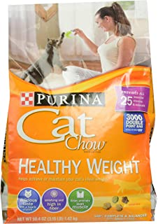 Purina Cat Chow Healthy Weight, 3.15-Pound