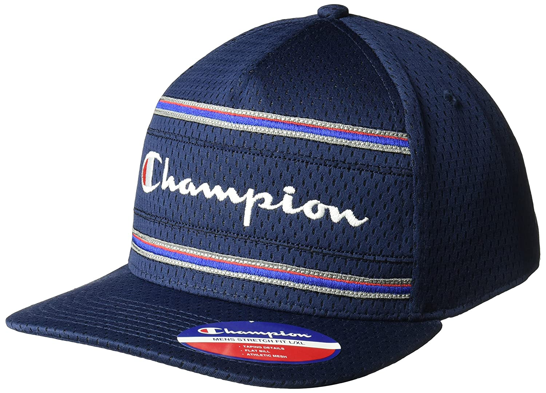 97724e623d42c Champion Men s Bankshot Stretch Fit Cap at Amazon Men s Clothing store