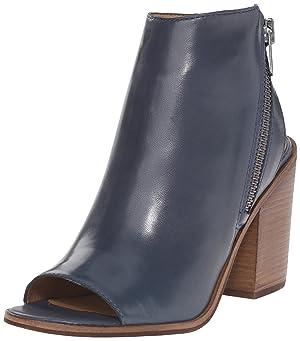 Steve Madden Women's Terraa Boot, Blue Leather, 6 M US