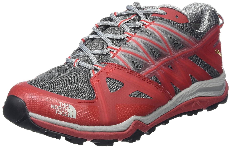 The North Face M HH Fp LTE II GTX, Zapatillas de Senderismo Para Hombre 40.5 EU Varios Colores (Griffin Grey/Tnf Red)