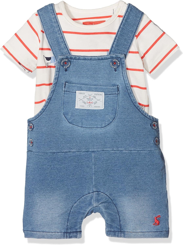 joules Baby-Jungen Duncan Denim Bekleidungsset