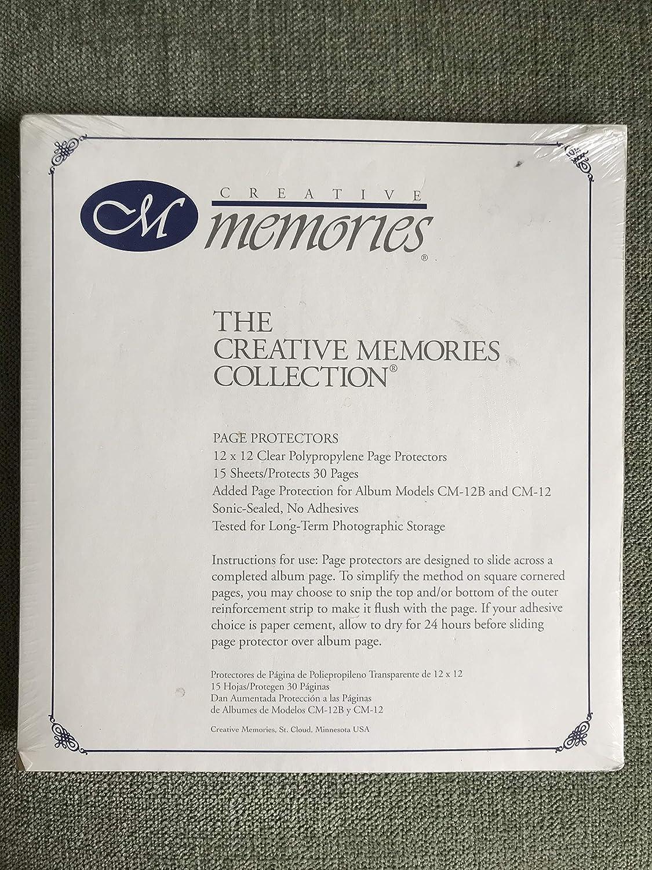 Creative Memories 12 x 12 Page Protectors