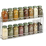Simply Organic Filled Spice Rack, 10.63 Pound, Wall Mounted Only