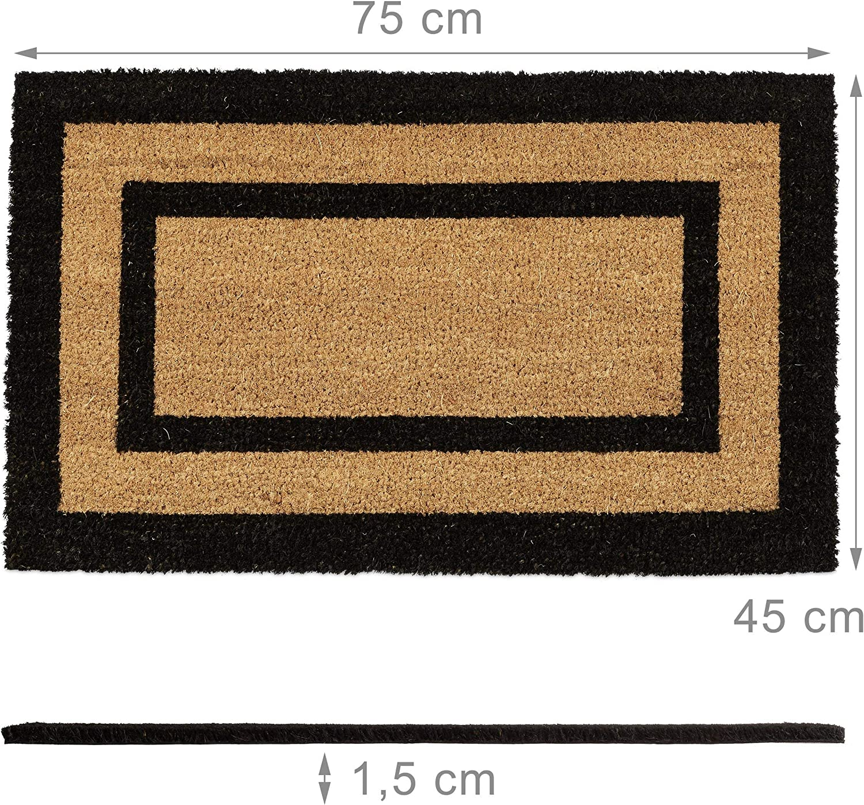 Color : 1, Taille : 40x60cm Paillasson Dentr/ée Lavable Noir Tapis De Sol Dr/ôle Cuisine Tapis Long Tapis Couloir Ext/érieur Tapis Dentr/ée De Porte