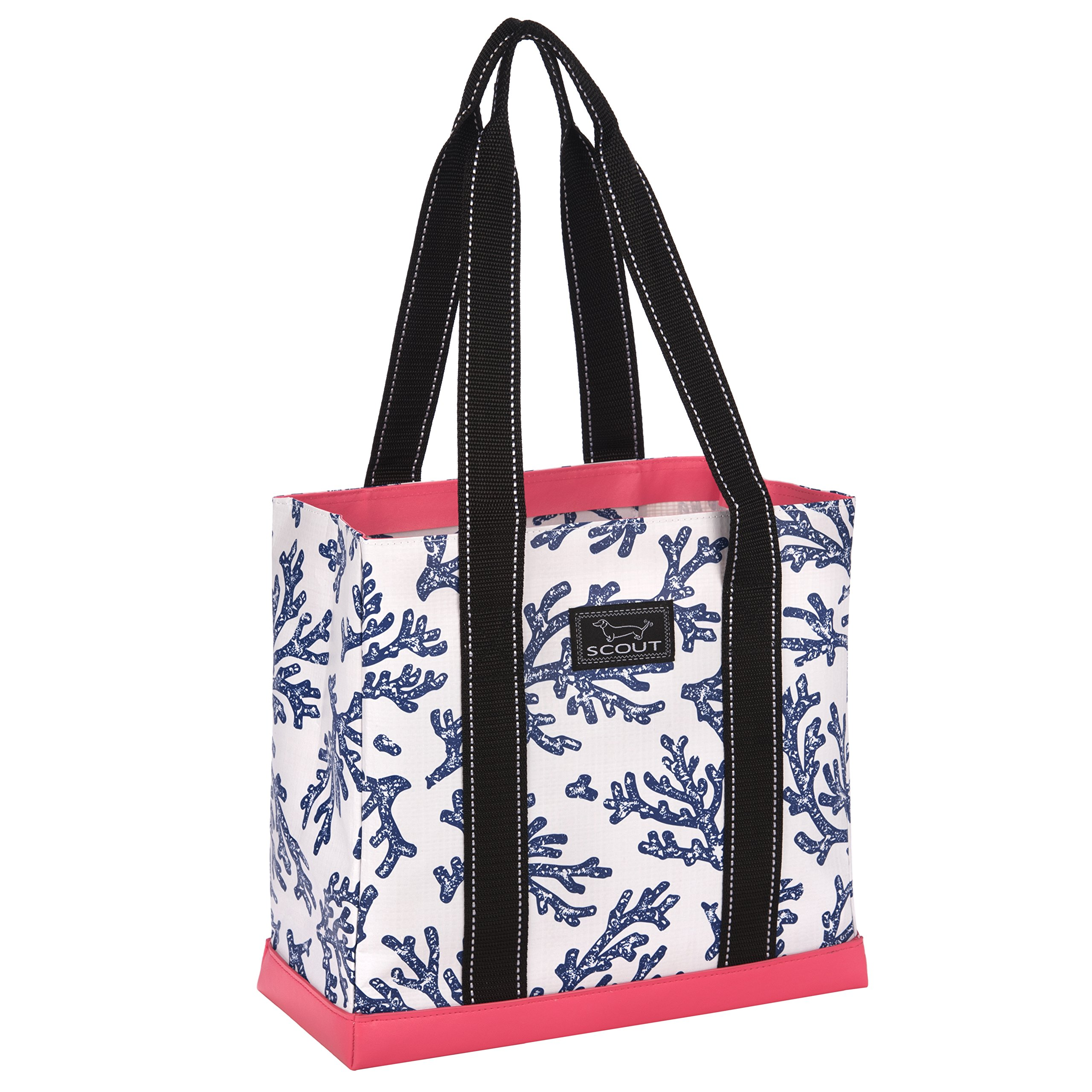 SCOUT Mini Deano Small Everyday Tote Bag, Folds Flat, Interior Zipper Pocket, Reinforced Bottom, Water Resistant, Areefa!