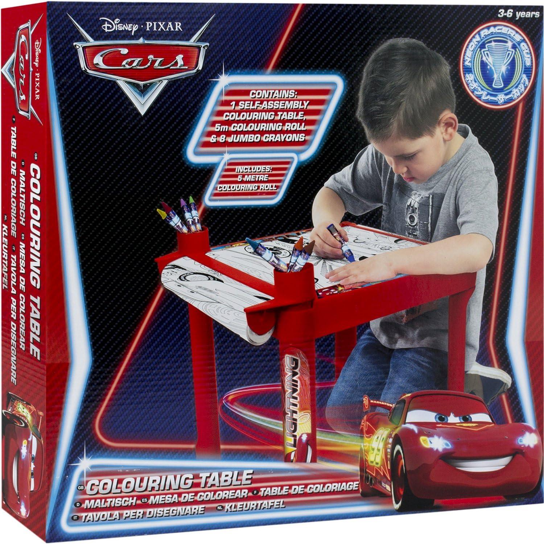 Disney Cars - Mesa de colorear para niños de Debenhams, tamaño: Disney Cars: Amazon.es: Juguetes y juegos