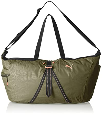 646b87b830407 PUMA Fit at Workout Bag spor çantası 64 x 30 x 1 cm Yeşil: Amazon.com.tr