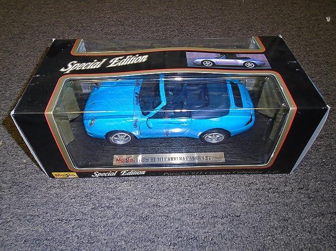 Maisto MI36622BK Porsche Carrera GT 2000 Black 1:18 MODELLINO Die CAST Model Compatible avec