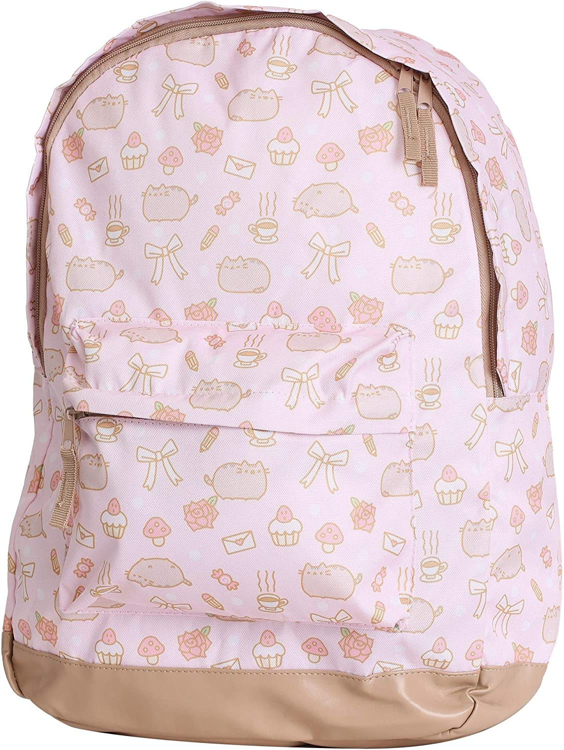 All Over Print Pusheen Pink Backpack Standard