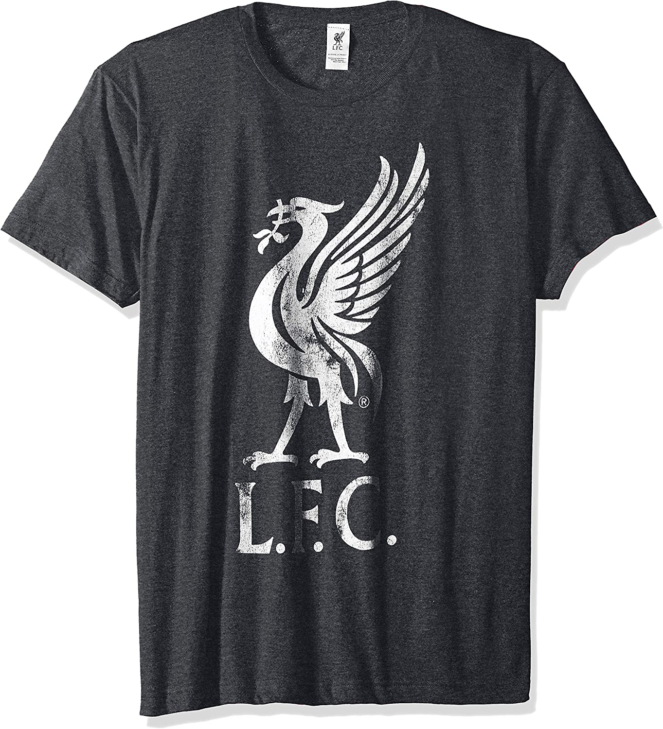 Fifth Sun Official Liverpool Fc Bird Logo Mens Tee