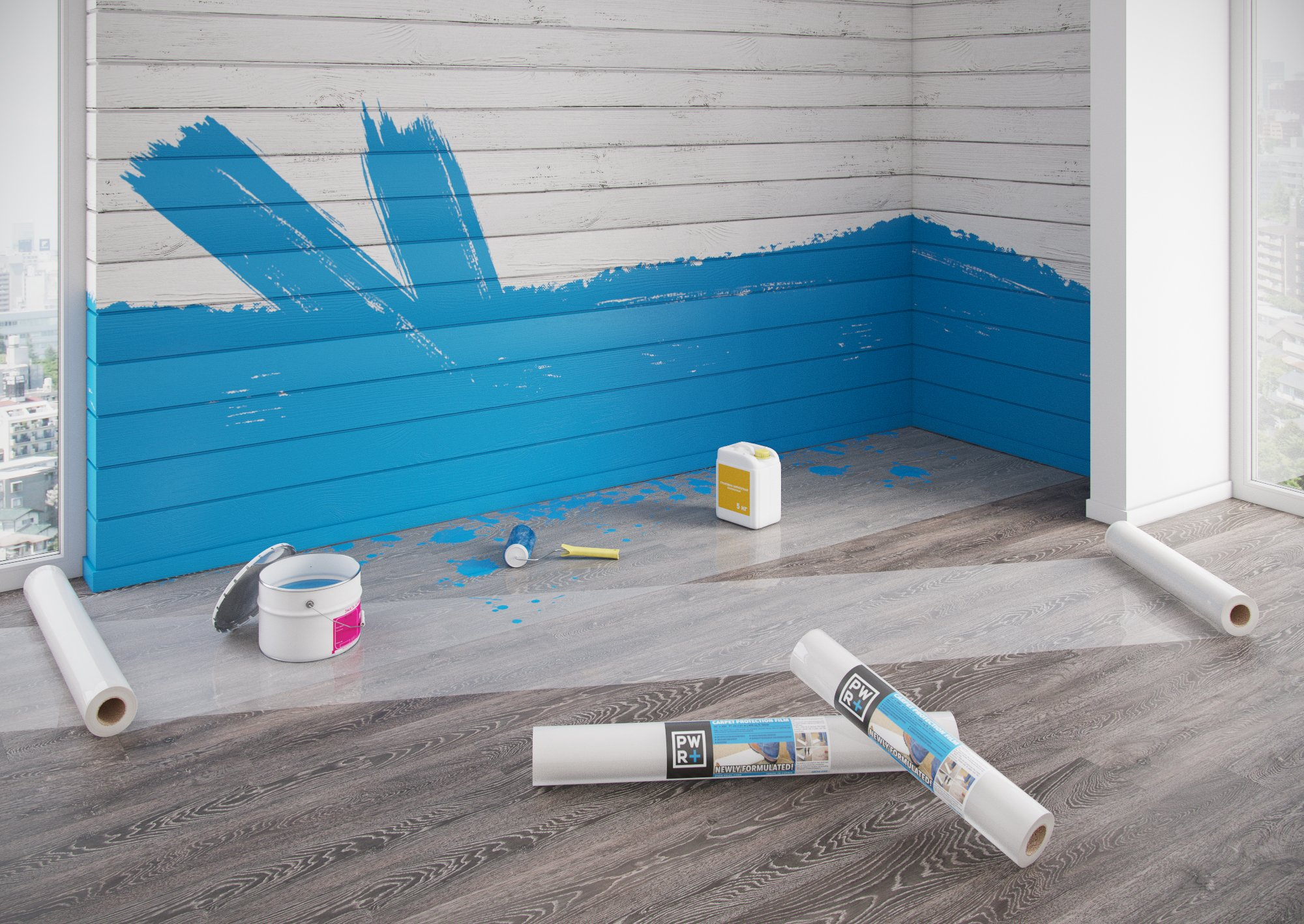 Plastic Carpet Protector For Painting Carpet Vidalondon