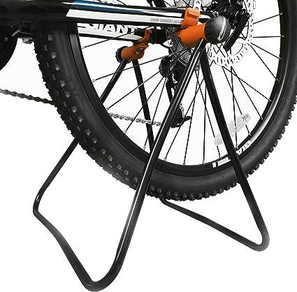 Repair Metal Display Shelf Bicycle Stand Bike Parking Rack Folding Holder