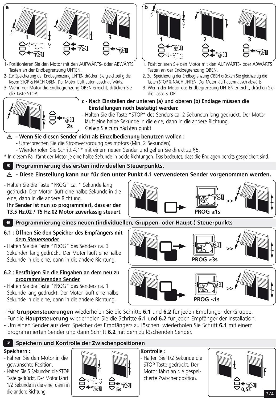 Simu Rolladenmotor Funkmotor T5 Hz02 50//12 50Nm SW60 128KG f/ür Rollladen Jalousie und Rolltor
