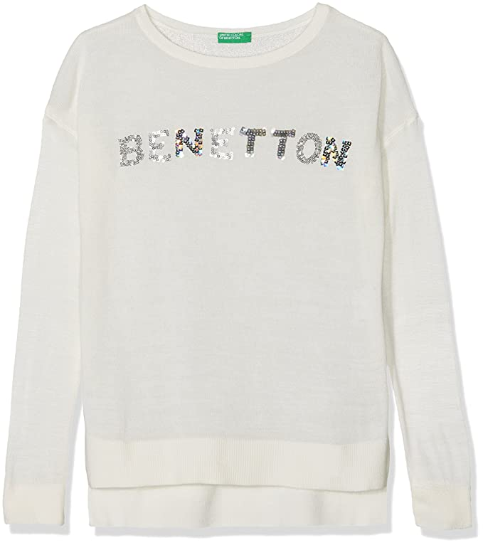 United Colors of Benetton Sweater L/S Sudadera para Niñas: Amazon.es: Ropa y accesorios