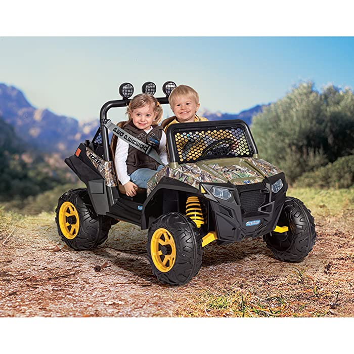Peg Perego Polaris RZR 900 CAMO Ride On, best birthday gifts for boys