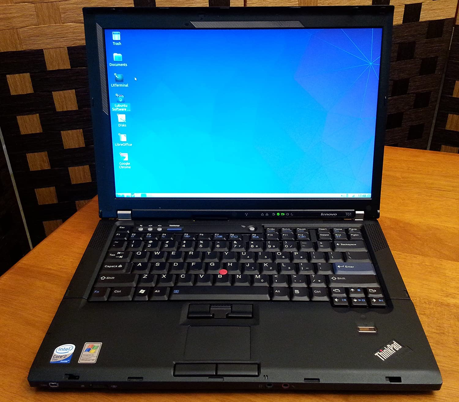 LENOVO T61 THINKPAD WINDOWS VISTA DRIVER