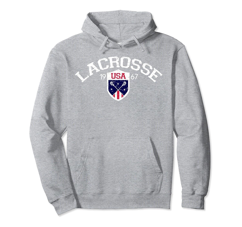 Vintage US National Lacrosse Hoodie-ah my shirt one gift