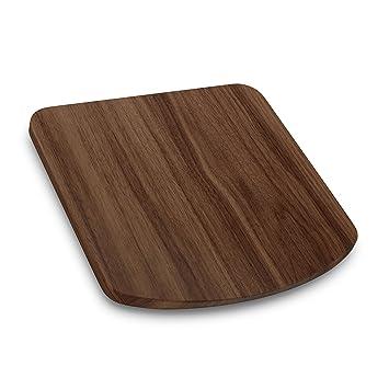 Tabla de base para TM5 o TM31 de ThermosSider H (madera maciza, impermeable, deslizante) 31 x 31,5 x 2,7 cm Nussbaum (für TM31): Amazon.es: Hogar