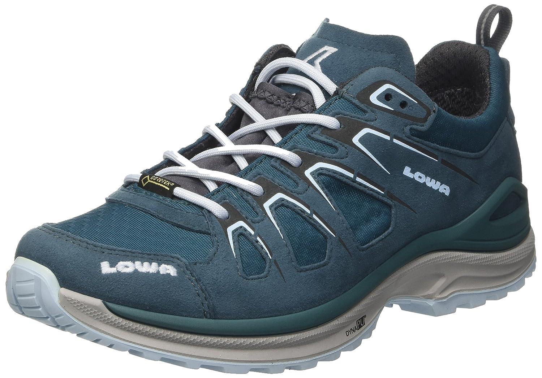 Lowa Innox Evo GTX Lo WS, Scarpe da Escursionismo Donna Turchese (Petrol/Eisblau)