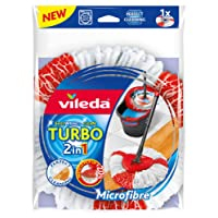Vileda Easy Wring & Clean Turbo 2 in1 Microfibre Mop Refill Head