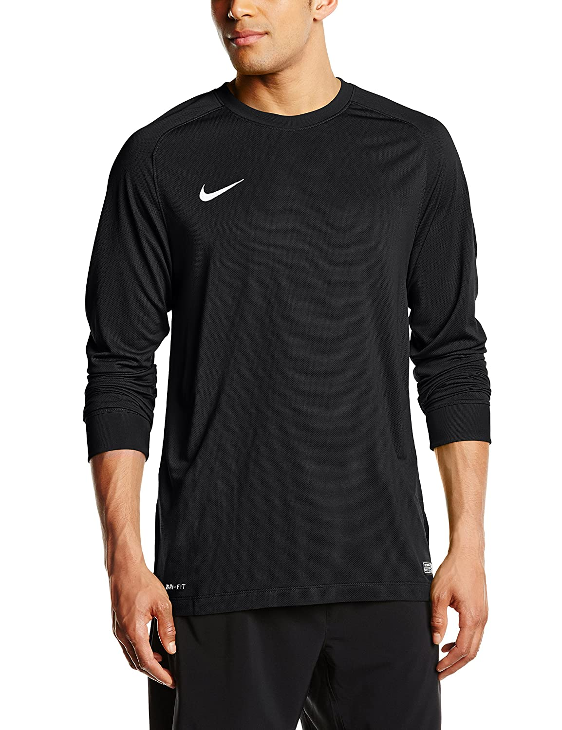 Nike長袖Youth Park Goalie II Soccer Goalkeeper Jersey (ブラック) Youth Large  B00GST38X8