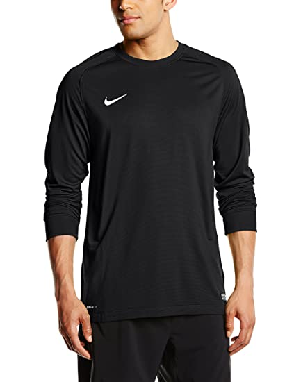 ecb46df23e7 Image Unavailable. Image not available for. Color: Nike Youth Park II  Goalkeeper Black Jersey - YM
