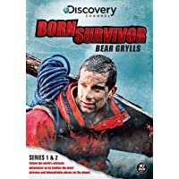 Bear Grylls: Born Survivor - Complete Season One And Two [Import anglais]