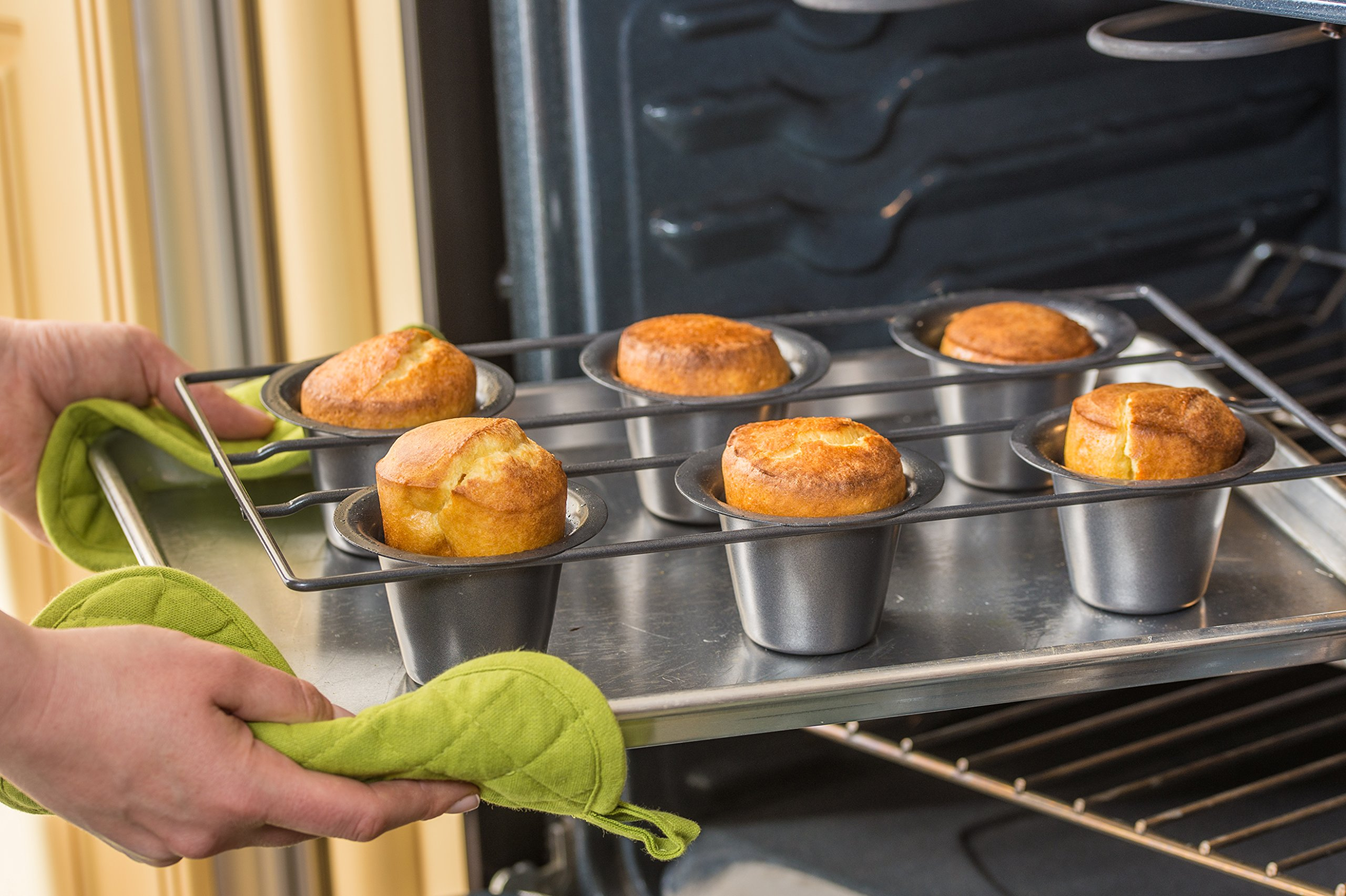 Bellemain 6 Cup Nonstick Popover Pan by Epica (Image #4)