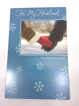 Amazon christmas card for husbandfor my husbandby american christmas card for husbandfor my husbandby american greetings pk of m4hsunfo