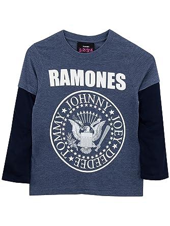 2dae6fa5 Amazon.com: Ramones Boys Long Sleeved Top: Clothing