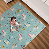 Folding Baby Crawling Play Mat Large Thick Portable Foam Camping Mat for Infants, Babies, Toddlers and Kids.