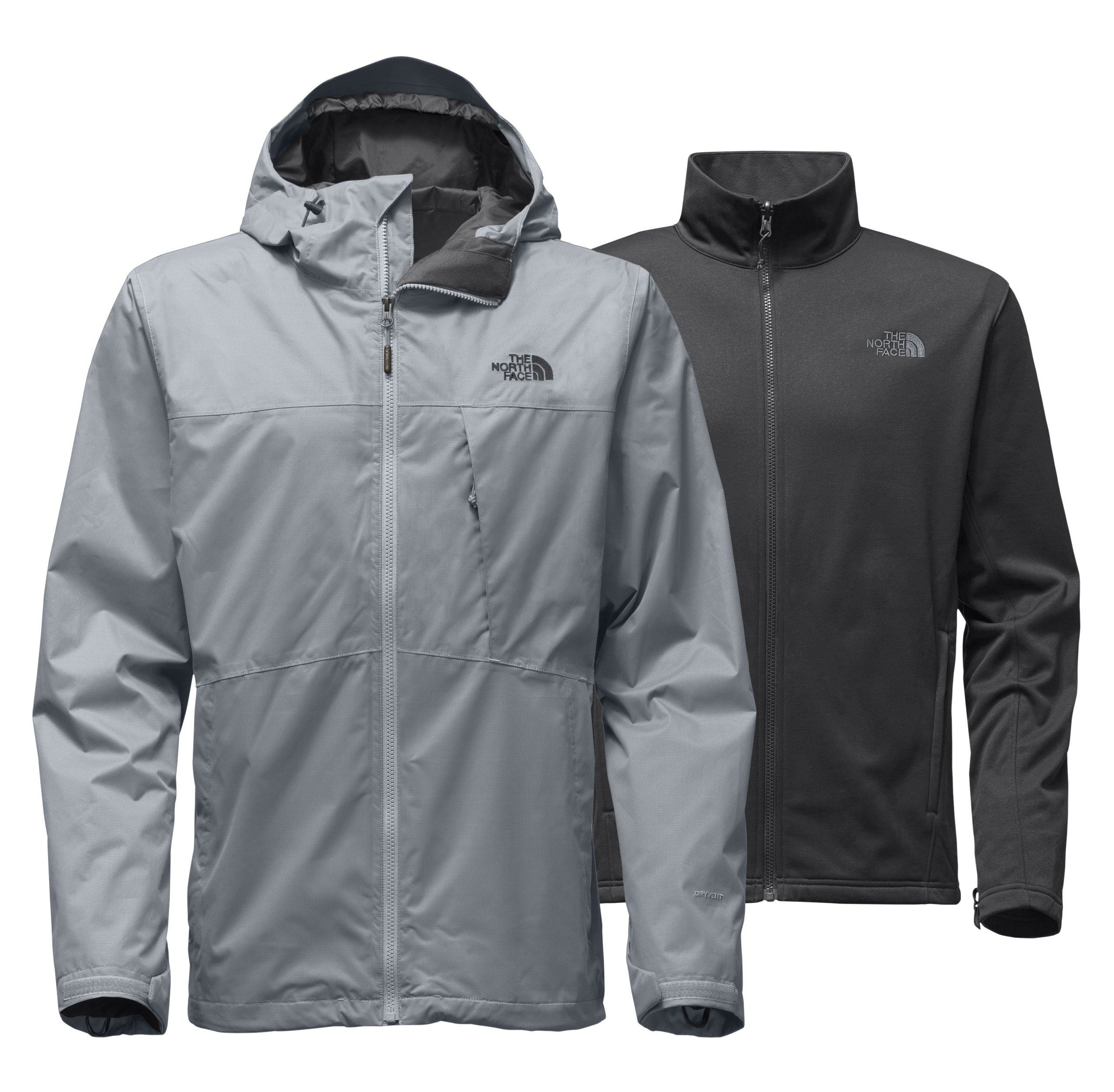 The North Face Mens Arrowood Triclimate Jacket - Mid Grey - M by The North Face