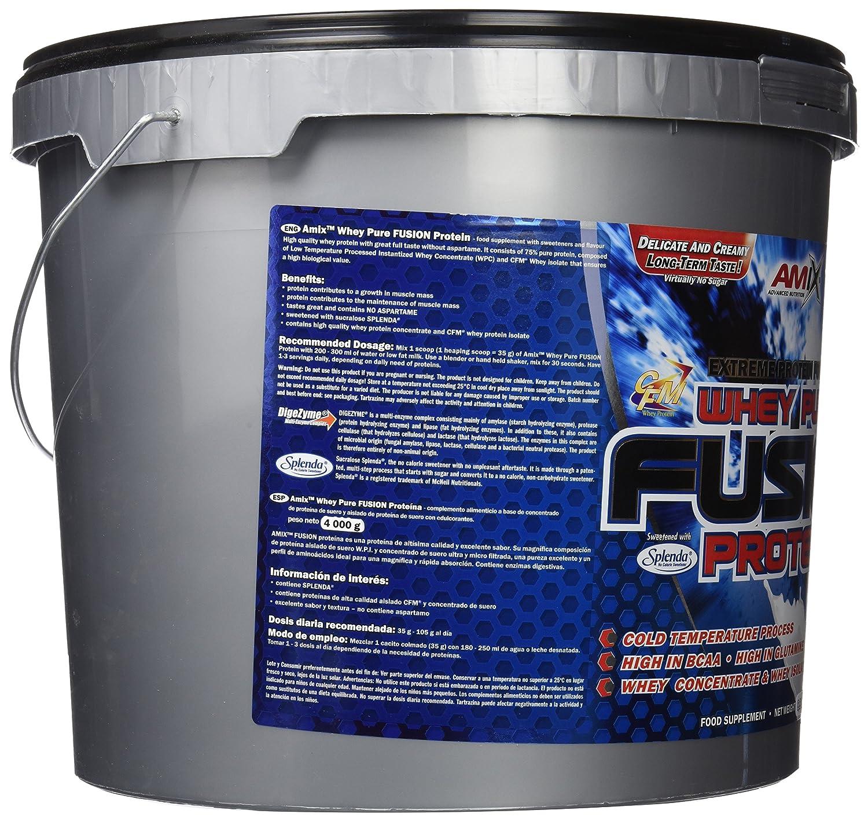 Amix Whey Pure Fusion Proteínas - 4000 gr_8594159532991