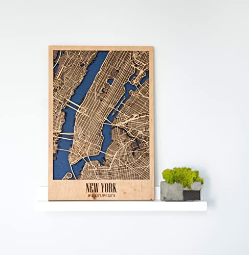 Wall Sticker Of New York City As A Home Interior Element Decor Idea Gift For