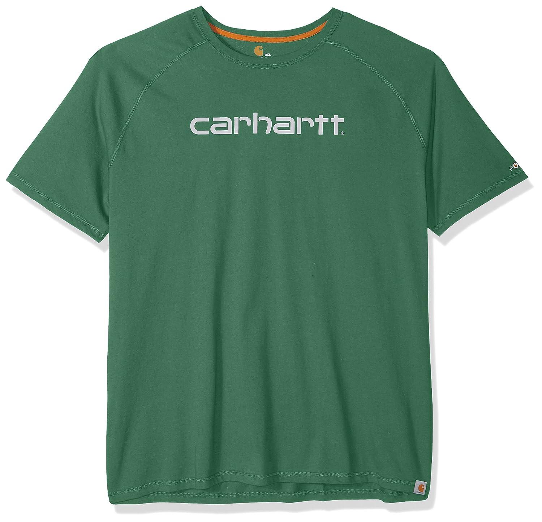 CarharttメンズBig & Tall Force Cotton Delmontグラフィック半袖Tシャツ B075M99CLK XXXX-Large|Botanical Green Botanical Green XXXX-Large